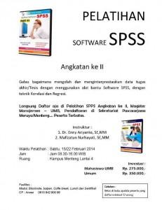 Pelatihan SPSSS